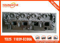 Culasse de Nissan Navara YD25 2.5DDTI DOHC 16V 2005 - 11039 - EC00A