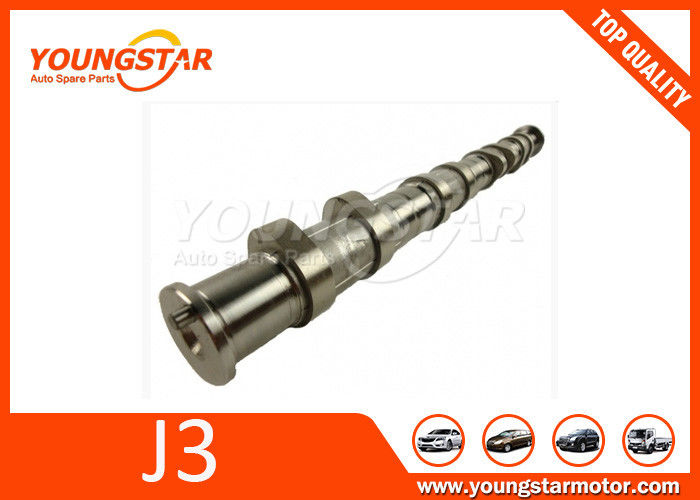 Durable Car Camshaft For Hyundai Terracan 2.9 CRDI 106 KW , OEM J3 CR 24210-4X000  / 24110-4X000