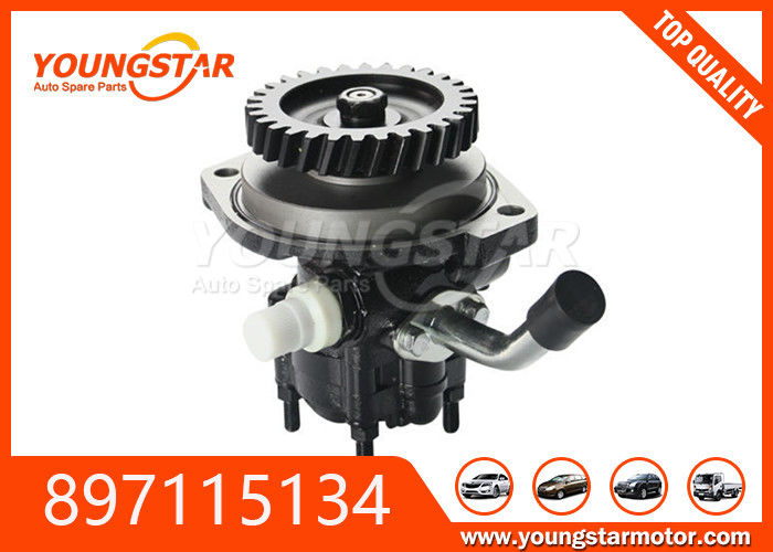 Hydraulic Car Steering Pump 100 Bar Max Pressure For ISUZU 4HF1 Engine 897115134