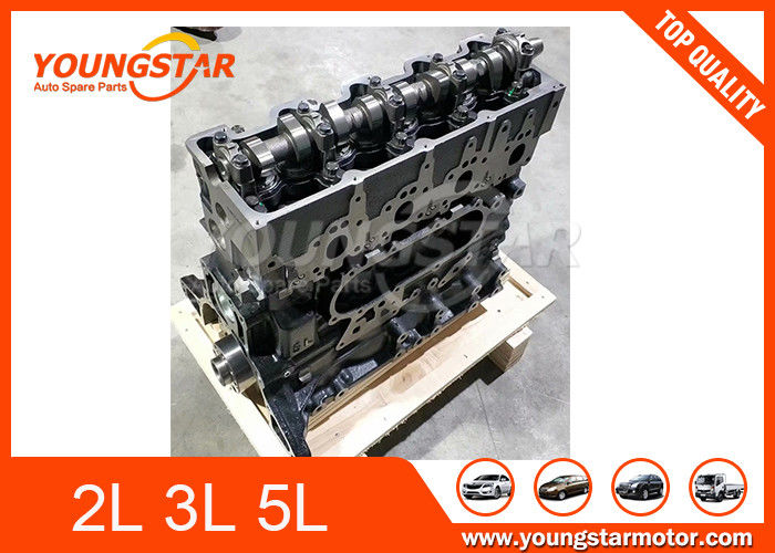 Engine Long Block For TOYOTA Hilux Dyna Hiace 2L  3L  5L  Casting Iron Material