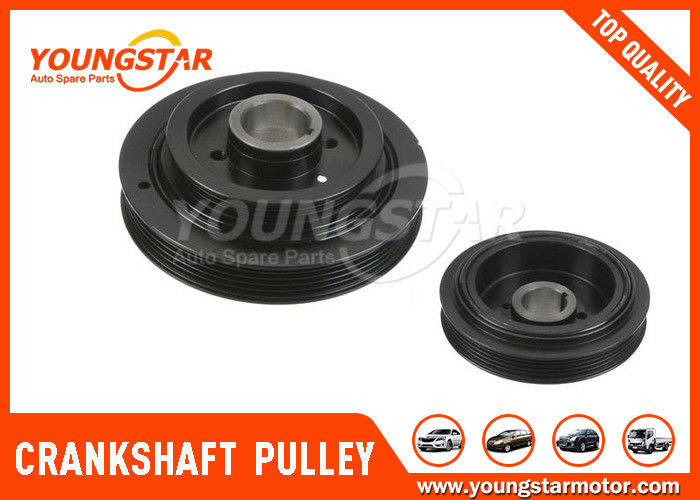 High Performance Engine Crankshaft Pulley For Mitsubishi 4G63 MD377602